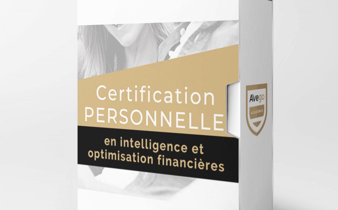 Certfification Personelle optimisation financieres