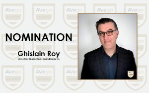 Nomination Ghislain Roy